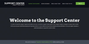 custom osticket responsive theme