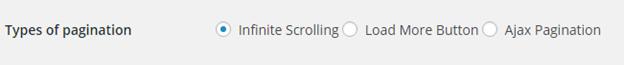 ajax pagination and infinite scroll plugin