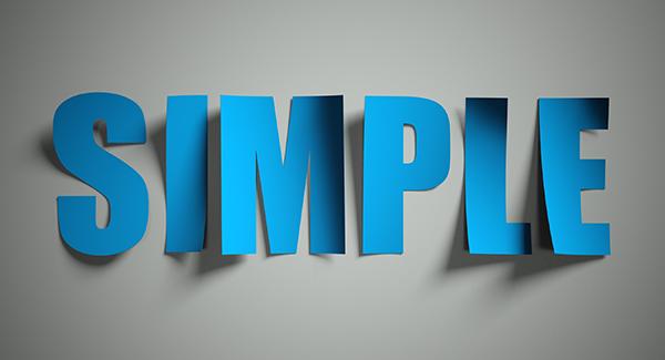 simplicity in logo design