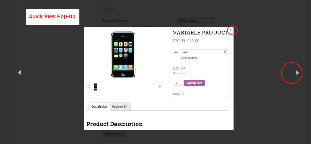 woocommerce quick view plugin