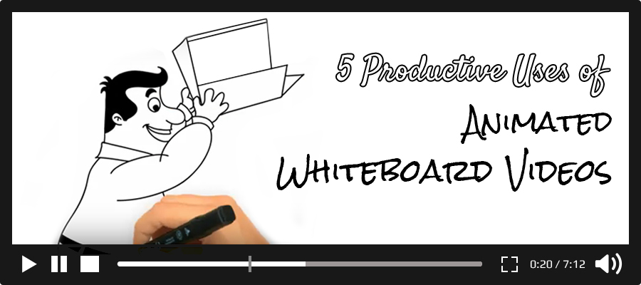 uses of animated whiteboard videos