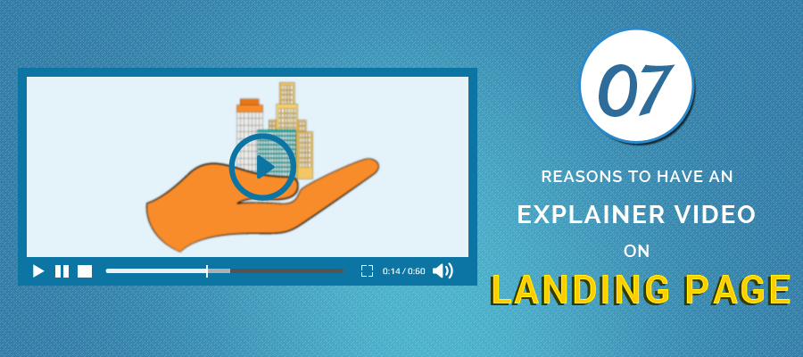 explainer videos on landing page