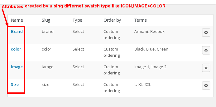 Color-Image Swatches
